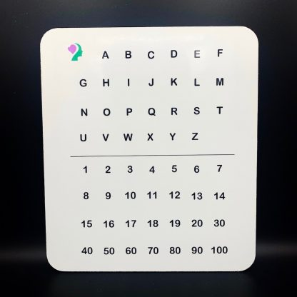 double sided dry erase writing board
