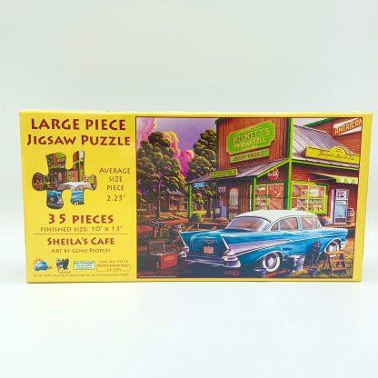 Sheila's Cafe Jigsaw Puzzle