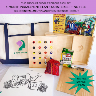 A Mind to Care Carer Starter Kit Game Therapy System available via no fee payment plan