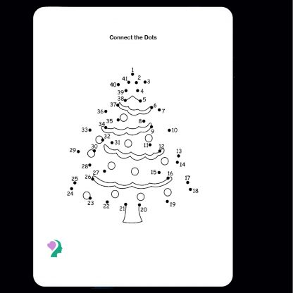 double sided dry erase coloring board Christmas tree