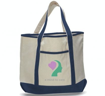 A Mind to Care Tote Bag