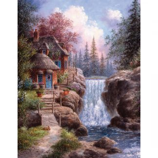 tranquil scene jigsaw puzzle
